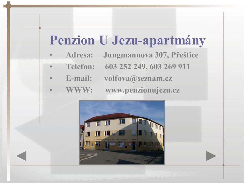 Penzion U Jezu-apartmány