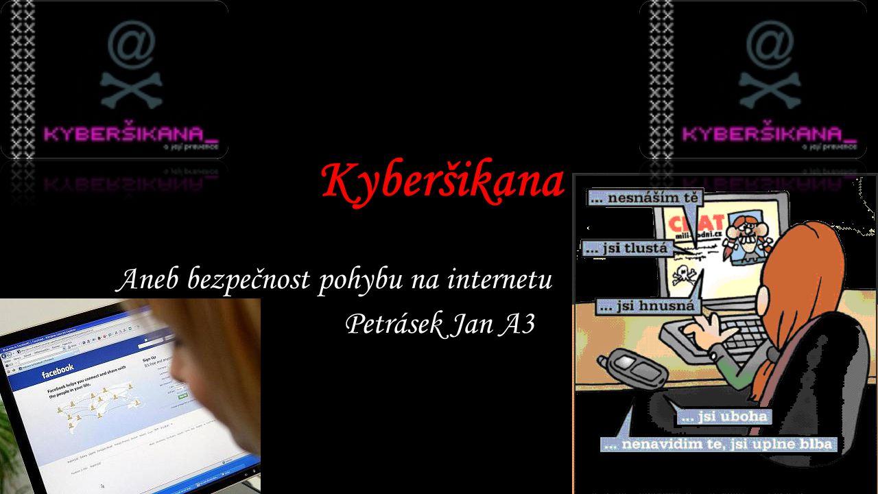 Aneb bezpečnost pohybu na internetu Petrásek Jan A3