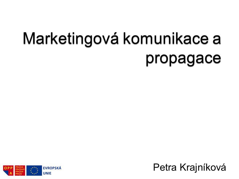 Marketingová komunikace a propagace