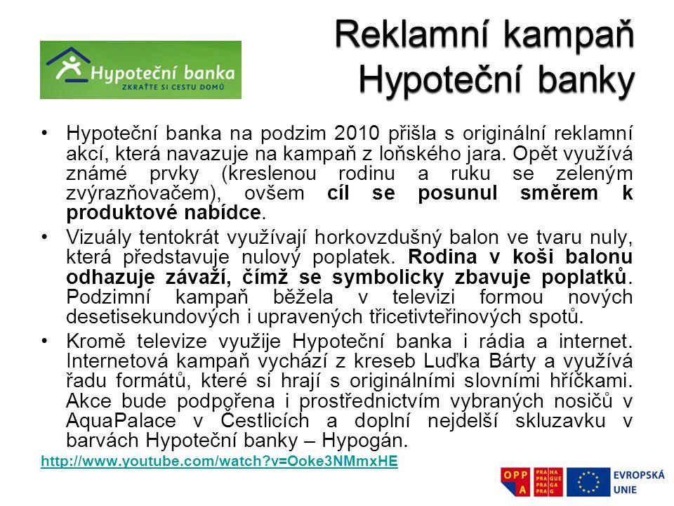 Reklamní kampaň Hypoteční banky
