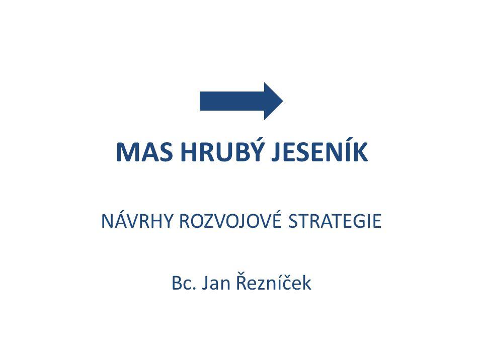 NÁVRHY ROZVOJOVÉ STRATEGIE Bc. Jan Řezníček