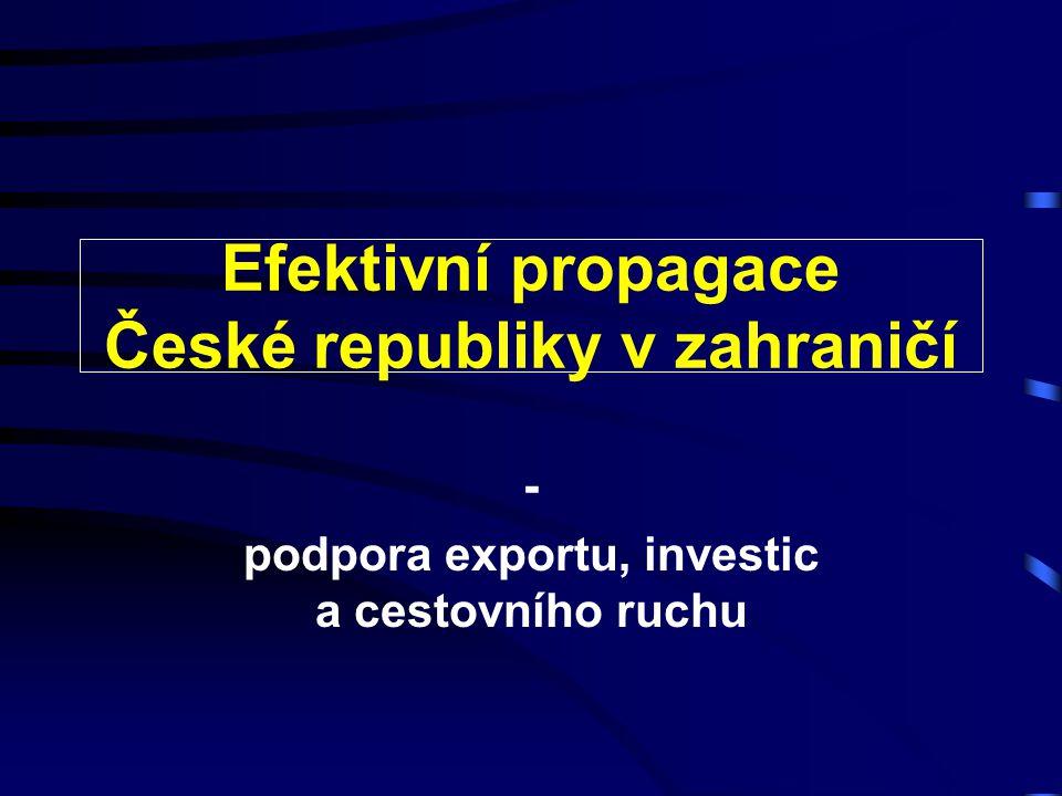 Efektivní propagace České republiky v zahraničí