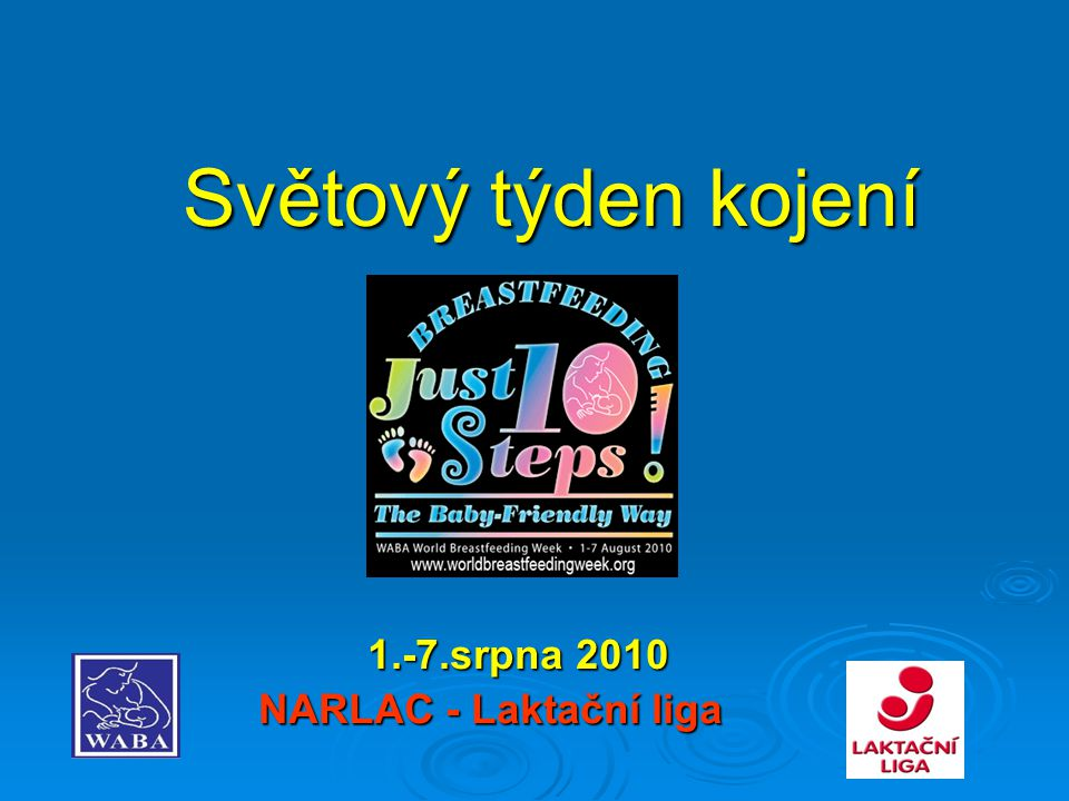 1.-7.srpna 2010 NARLAC - Laktační liga