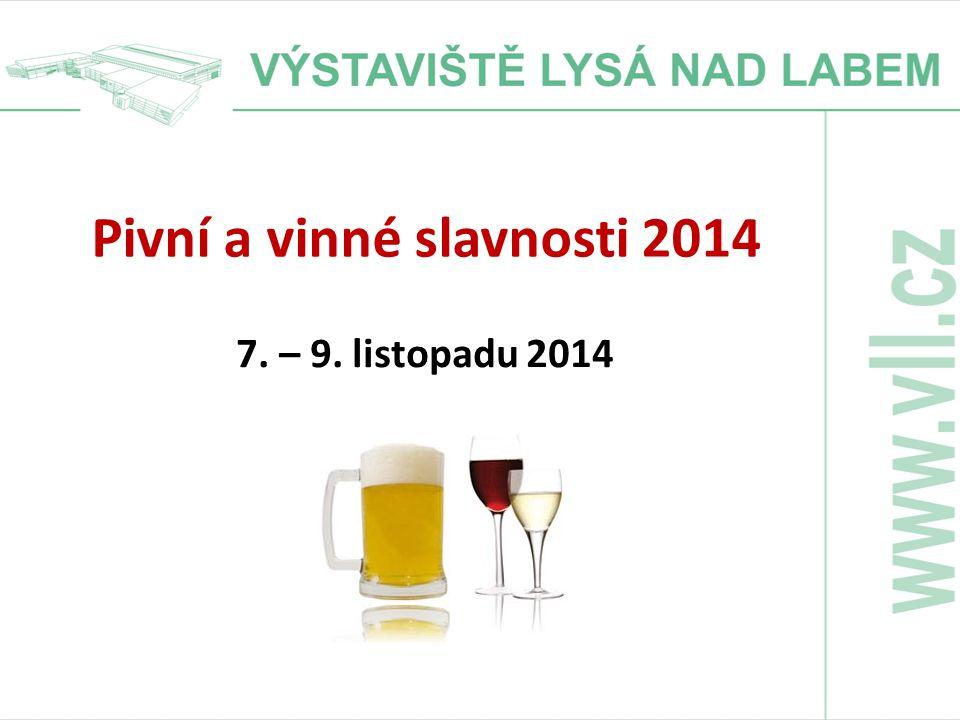Pivní a vinné slavnosti 2014