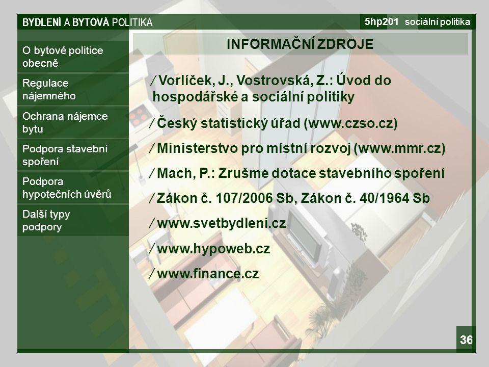 ∕ Český statistický úřad (www.czso.cz)
