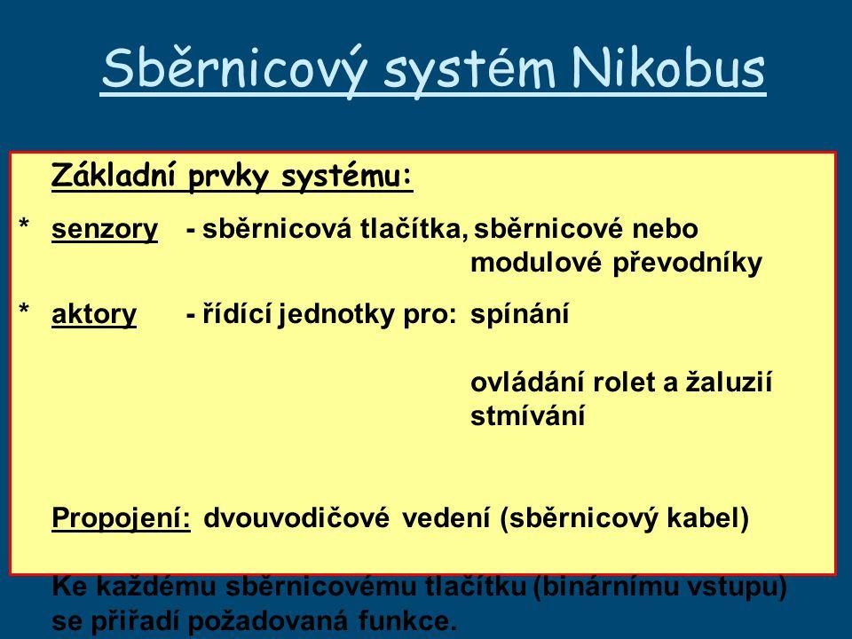 Sběrnicový systém Nikobus