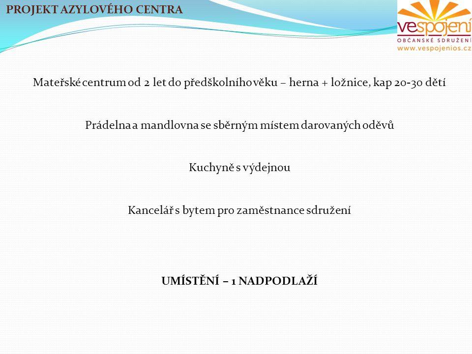PROJEKT AZYLOVÉHO CENTRA