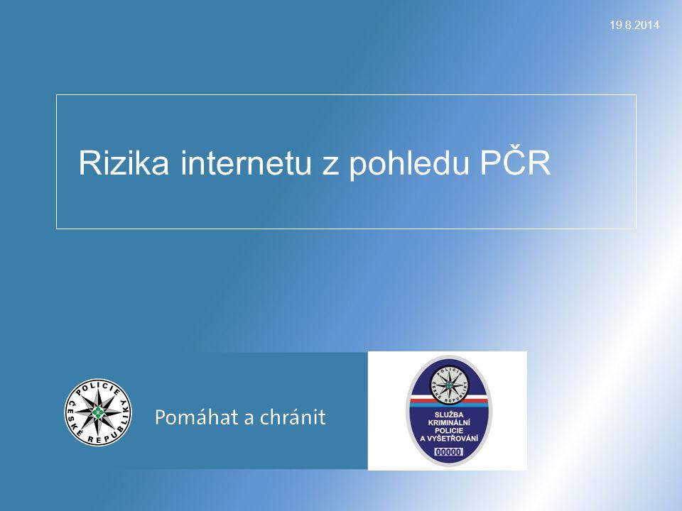 Rizika internetu z pohledu PČR