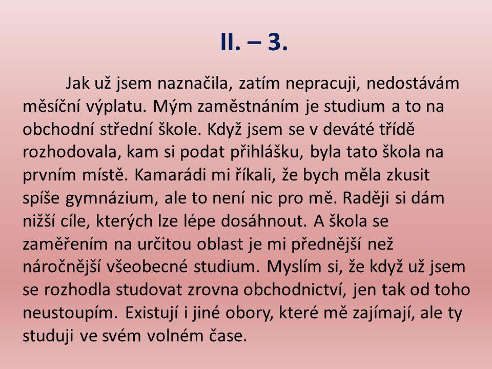 II. – 3.