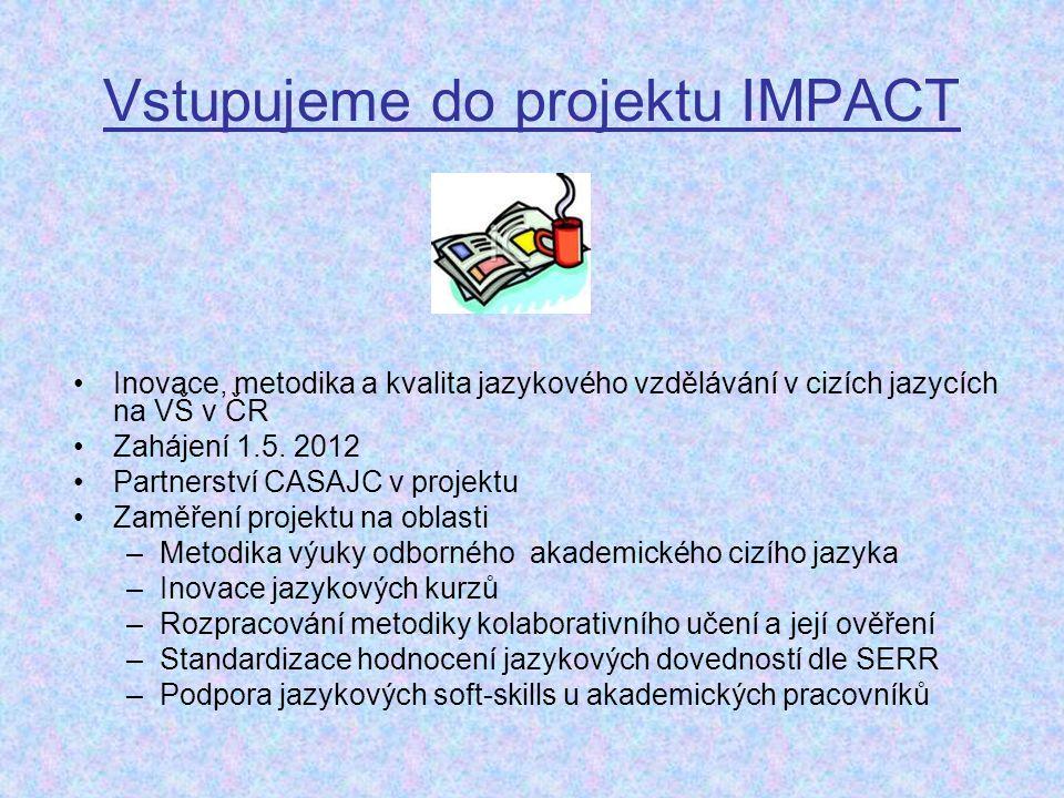Vstupujeme do projektu IMPACT
