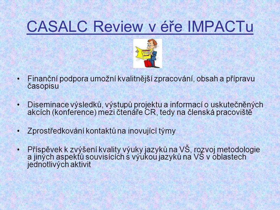 CASALC Review v éře IMPACTu