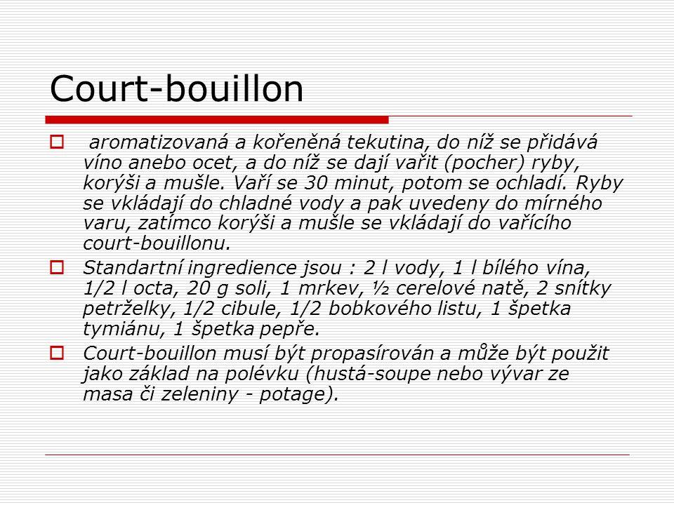 Court-bouillon