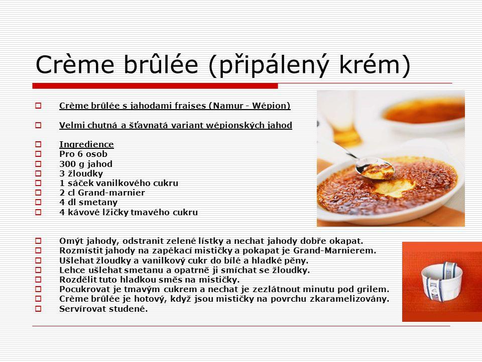 Crème brûlée (připálený krém)
