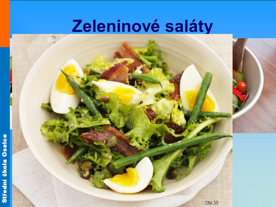 Zeleninové saláty Ze syrové zeleniny Obr.26 Obr.32 Obr.29 Obr.24