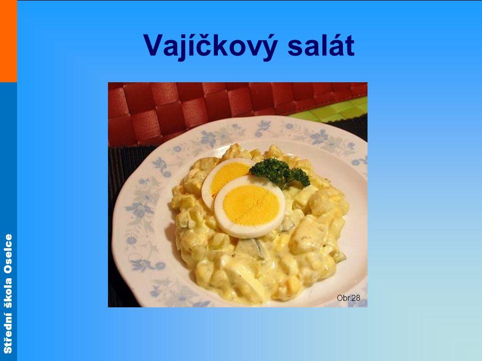 Vajíčkový salát Obr.28