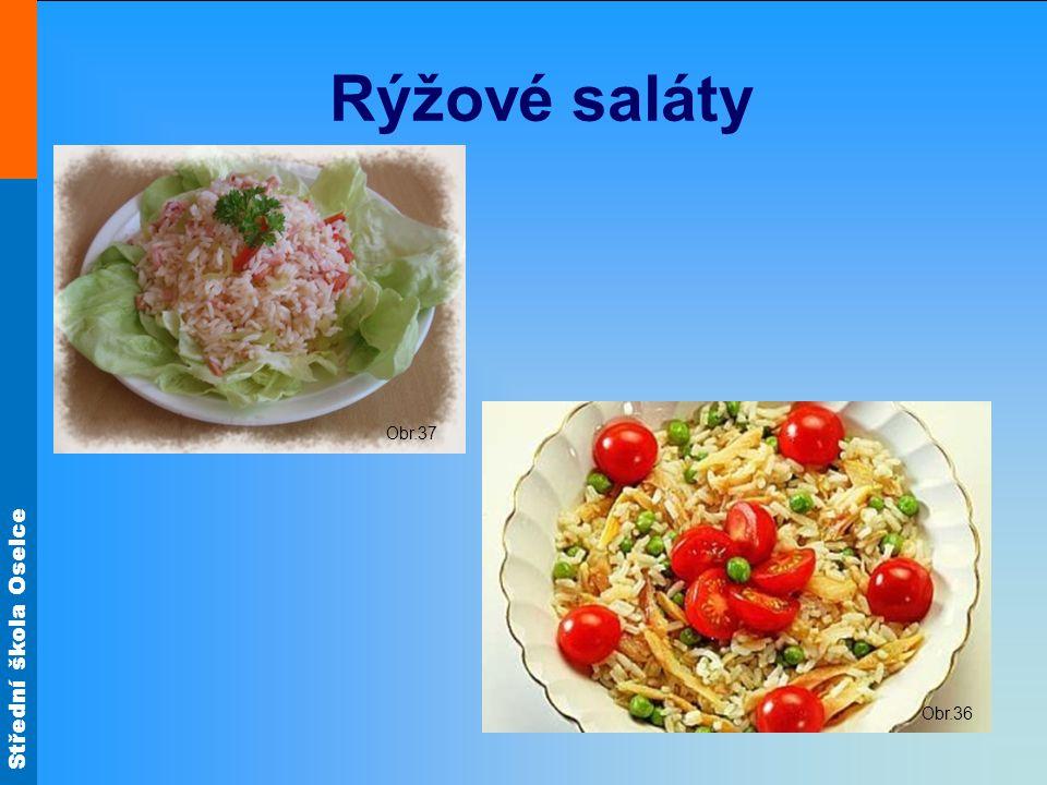 Rýžové saláty Obr.37 Obr.36