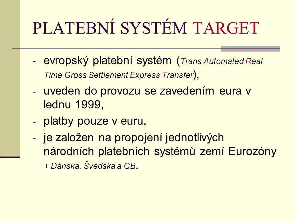 PLATEBNÍ SYSTÉM TARGET