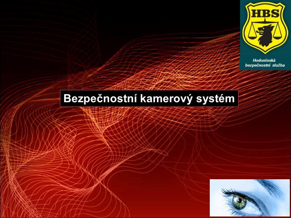 Bezpečnostní kamerový systém