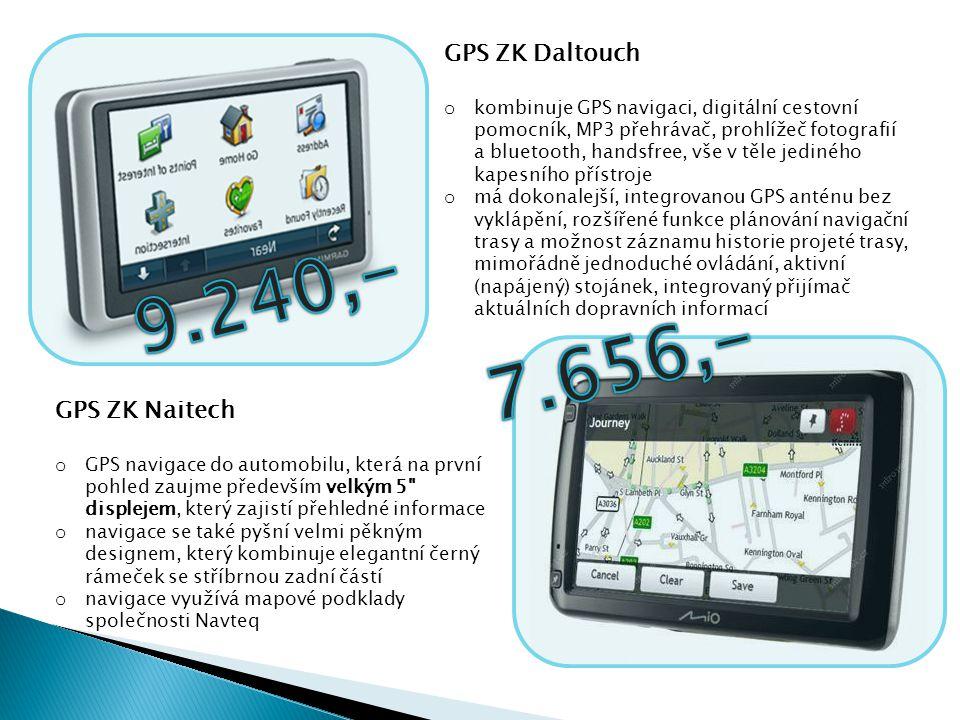 9.240,- 7.656,- GPS ZK Daltouch GPS ZK Naitech