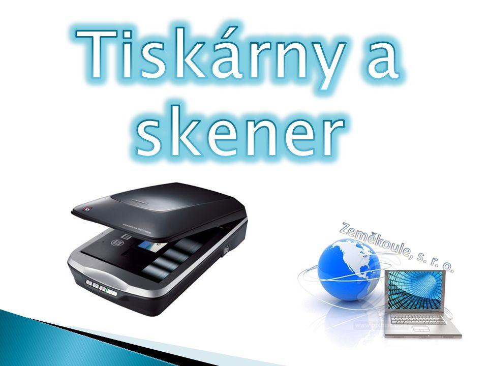 Tiskárny a skener