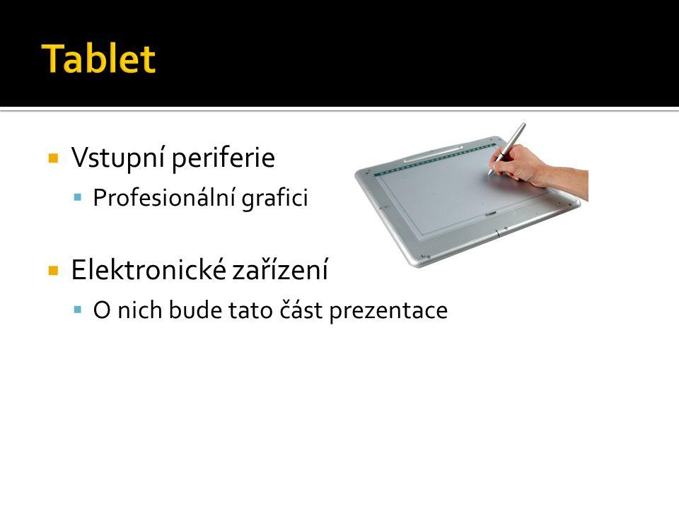 Tablet Vstupní periferie Elektronické zařízení Profesionální grafici