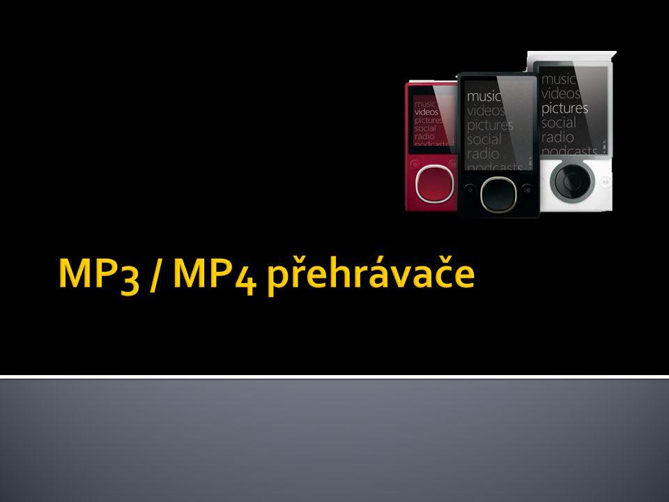 MP3 / MP4 přehrávače