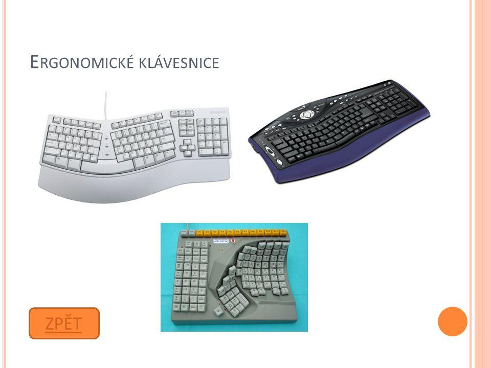 Ergonomické klávesnice