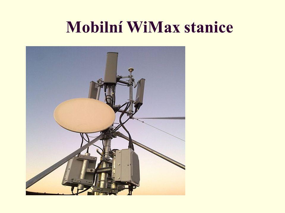 Mobilní WiMax stanice