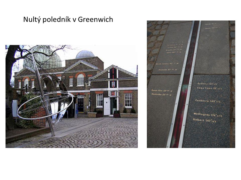 Nultý poledník v Greenwich