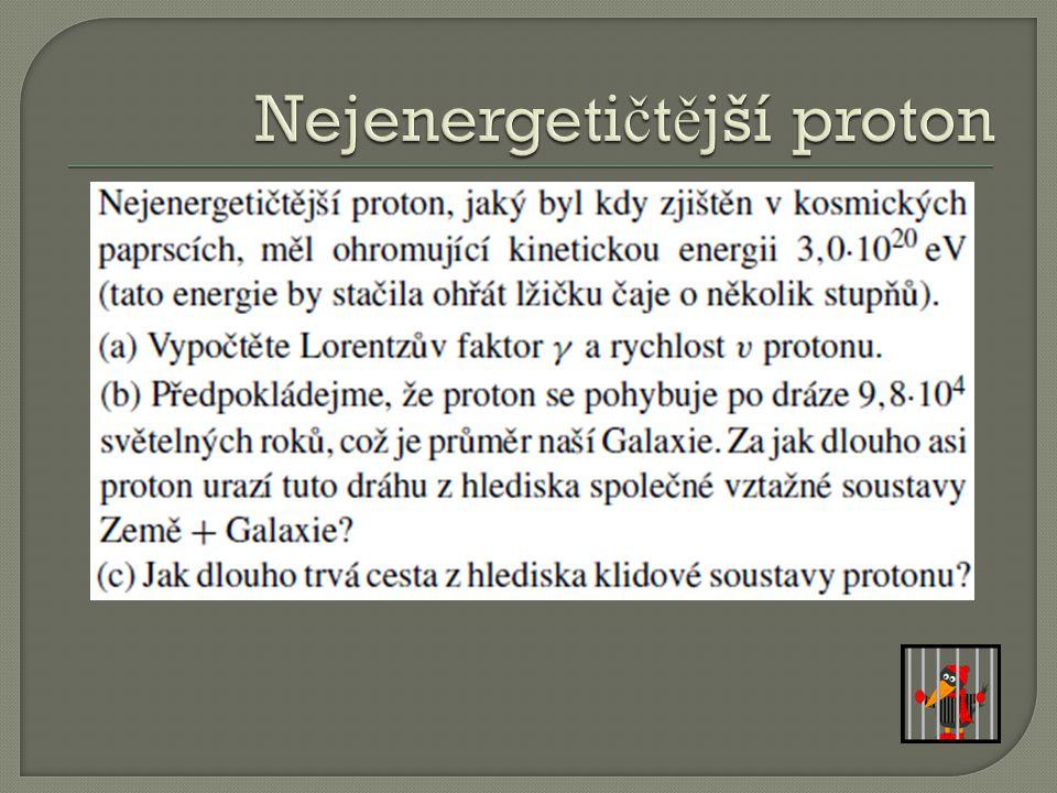 Nejenergetičtější proton