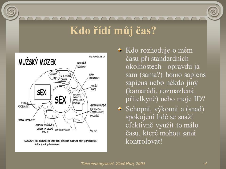 Time management -Zlaté Hory 2004