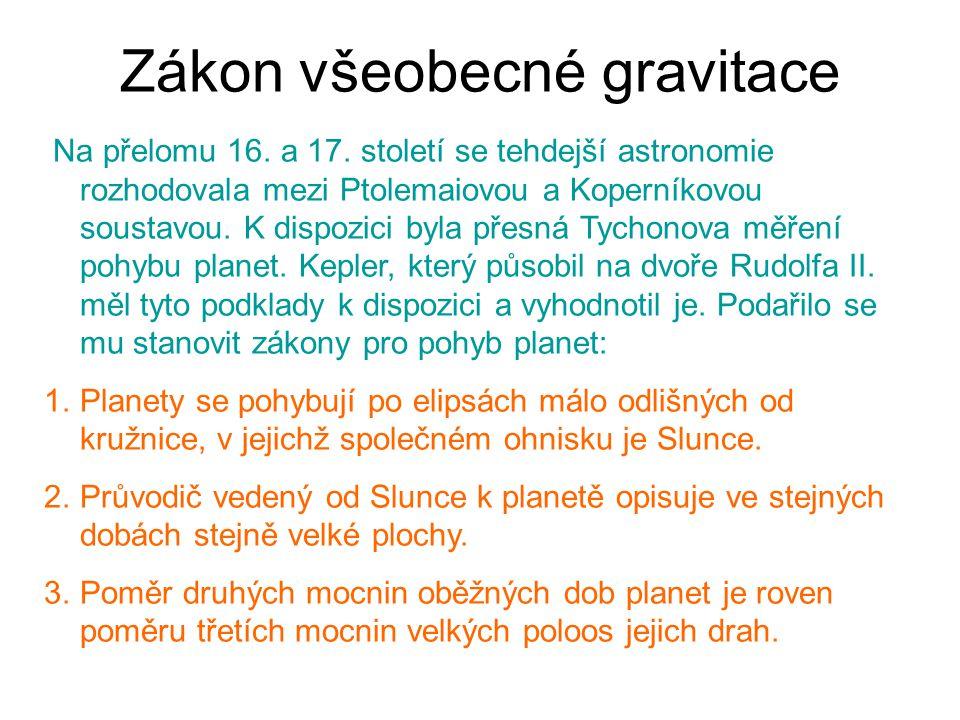 Zákon všeobecné gravitace