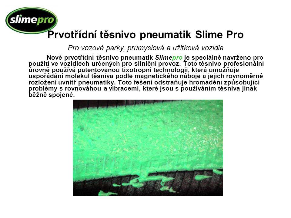 Prvotřídní těsnivo pneumatik Slime Pro