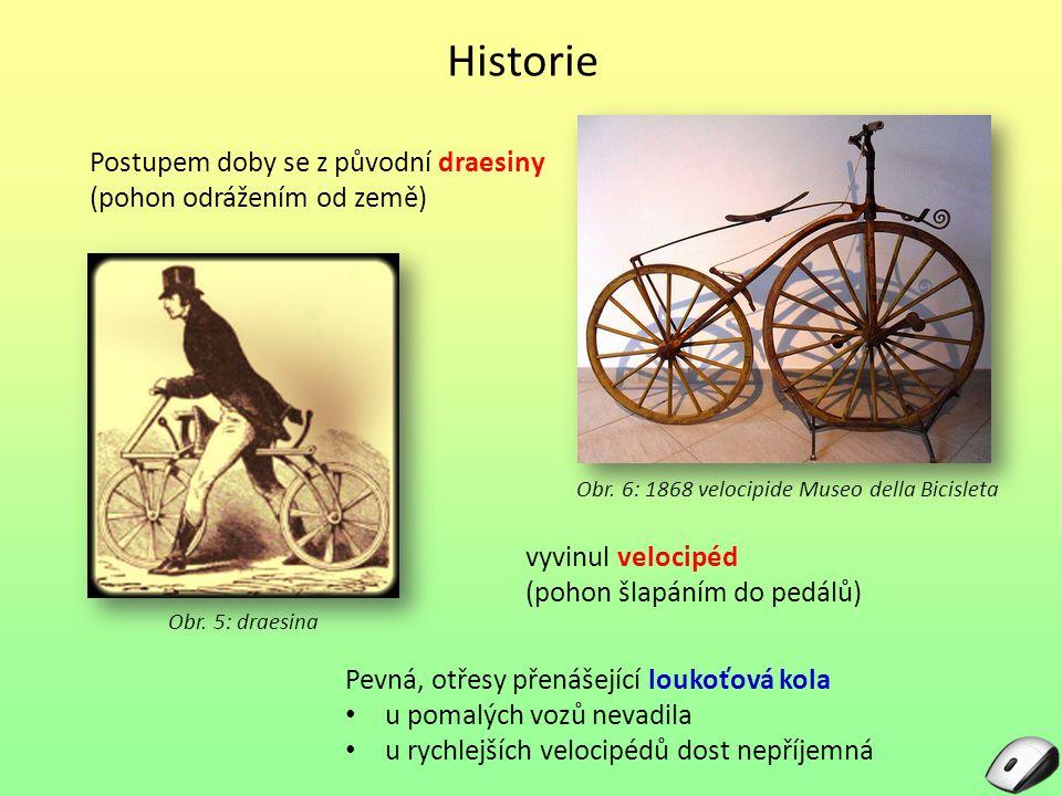 Obr. 6: 1868 velocipide Museo della Bicisleta