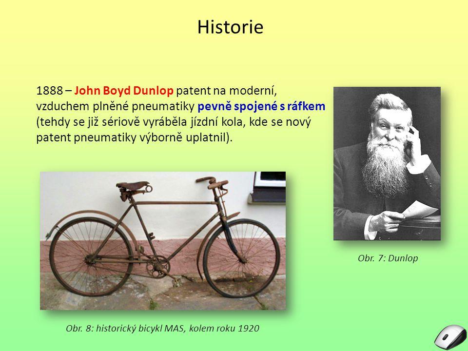 Obr. 8: historický bicykl MAS, kolem roku 1920