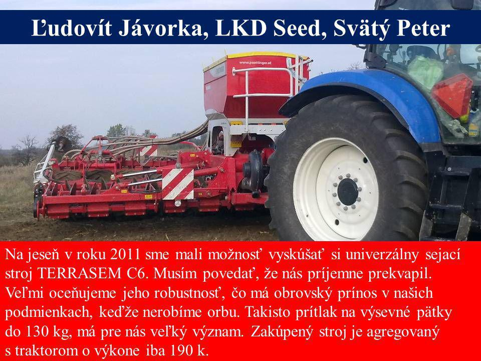 Ľudovít Jávorka, LKD Seed, Svätý Peter