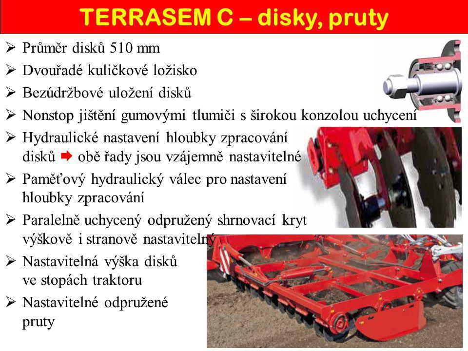 TERRASEM C – disky, pruty