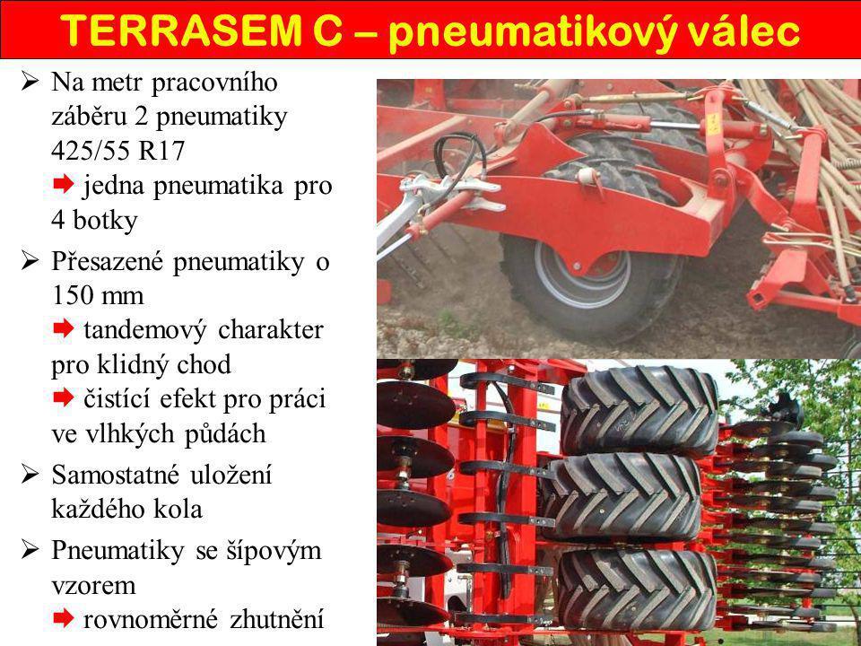 TERRASEM C – pneumatikový válec
