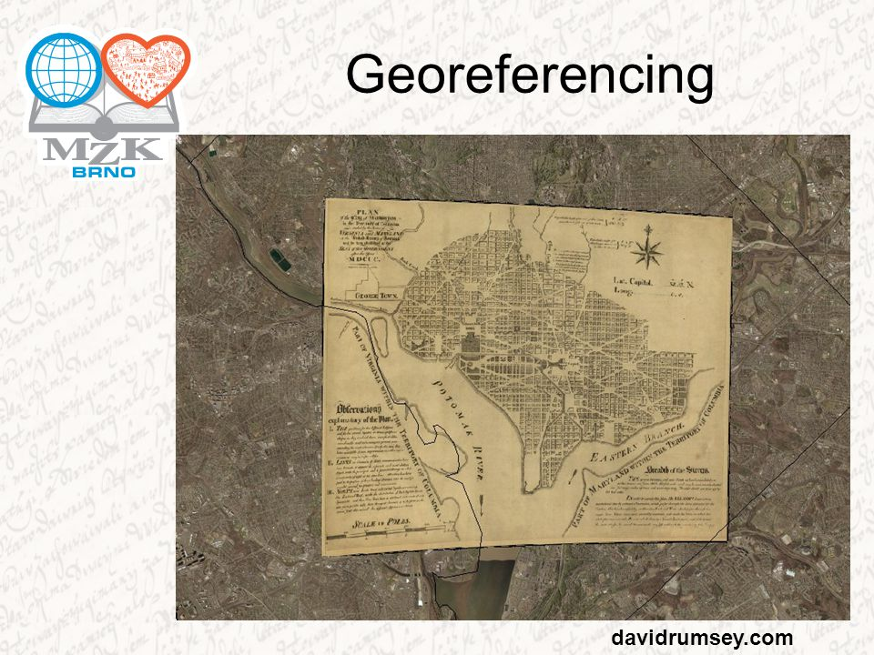 Georeferencing davidrumsey.com