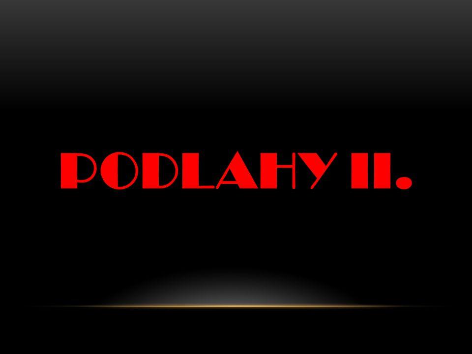 PODLAHY II.