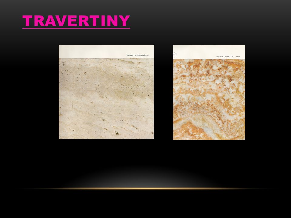 TRAVERTINY