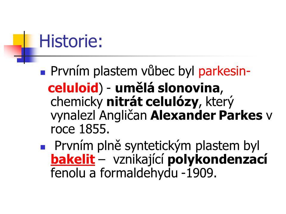 Historie: Prvním plastem vůbec byl parkesin-