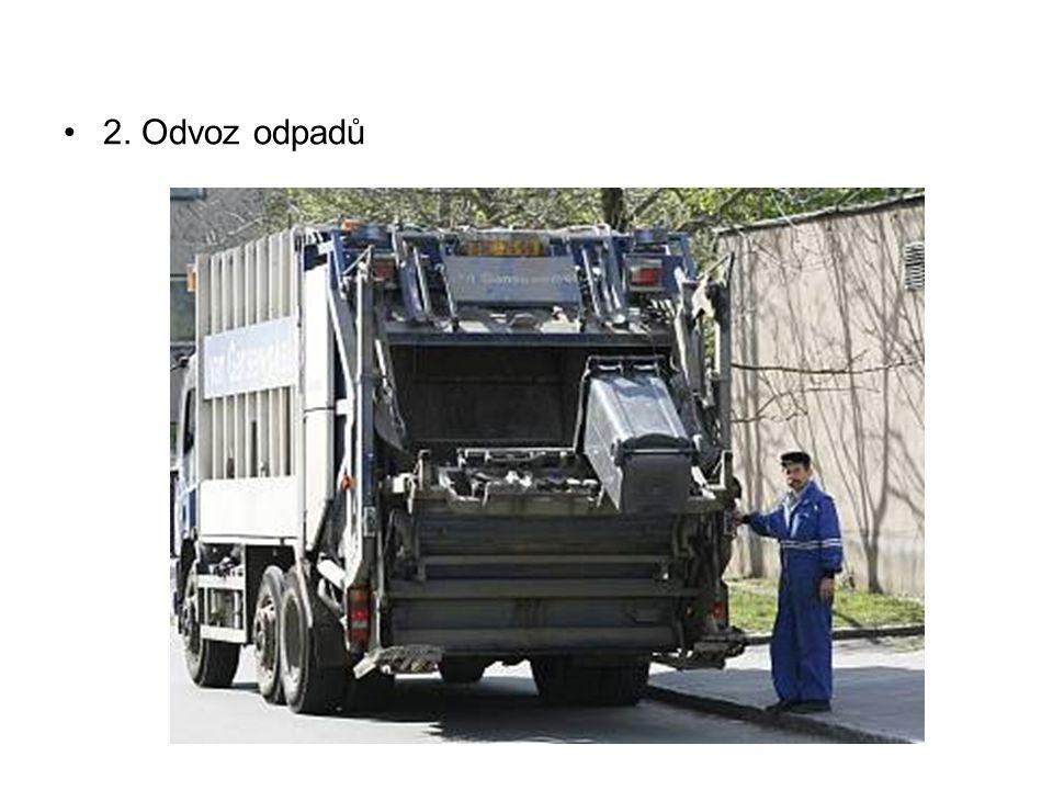 2. Odvoz odpadů