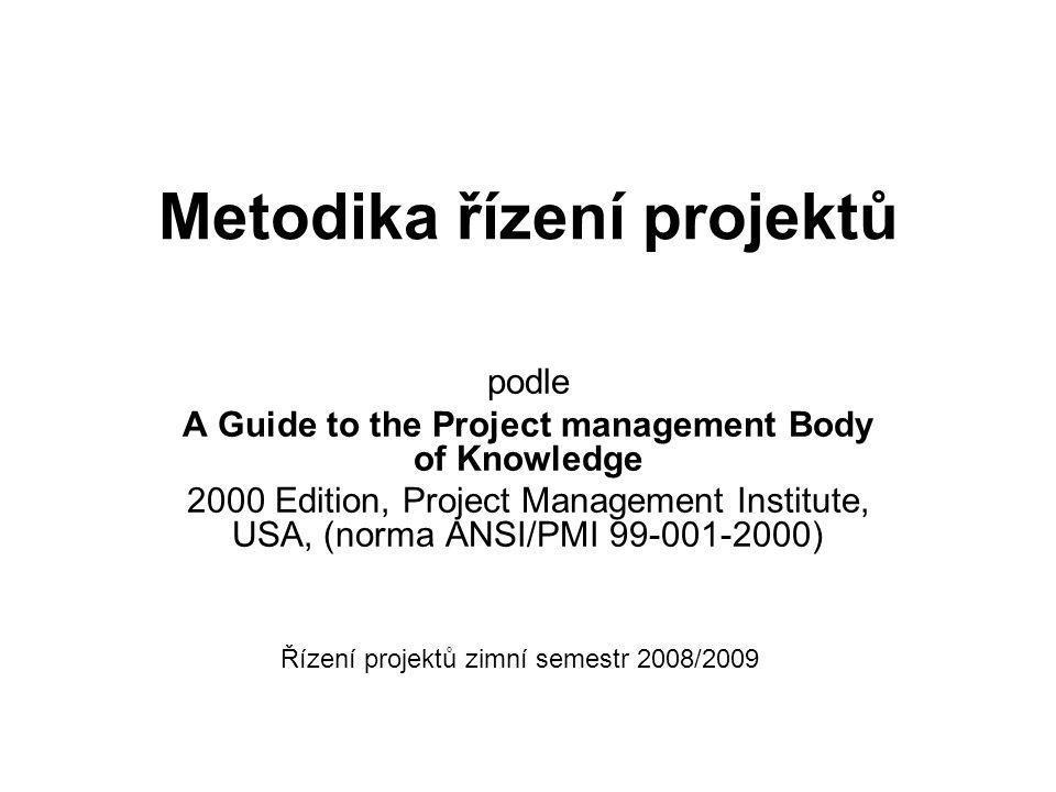 Metodika řízení projektů