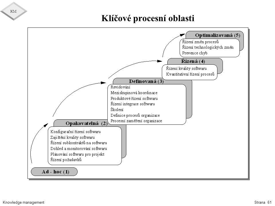 Klíčové procesní oblasti