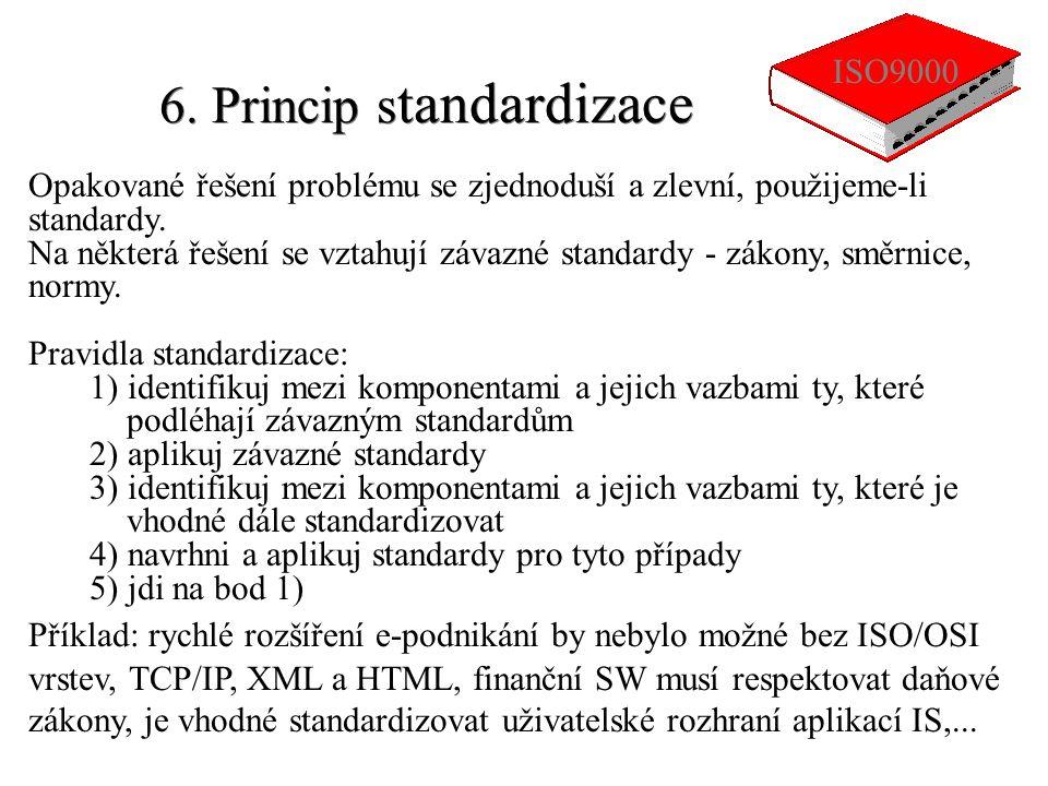 6. Princip standardizace