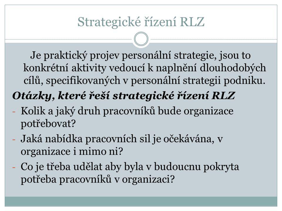 Strategické řízení RLZ
