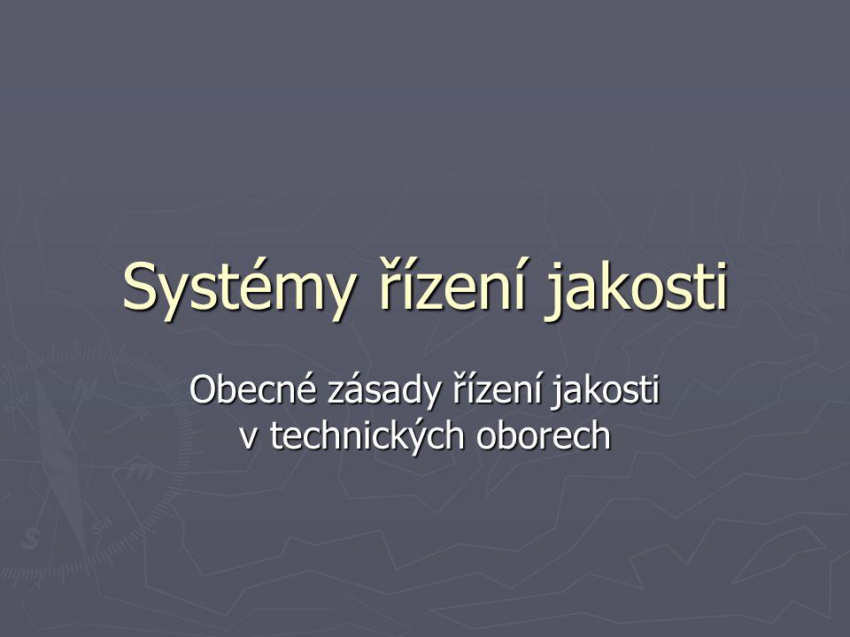Systémy řízení jakosti