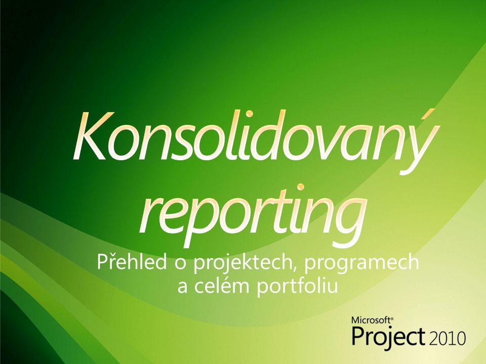 Přehled o projektech, programech a celém portfoliu