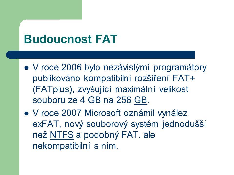 Budoucnost FAT